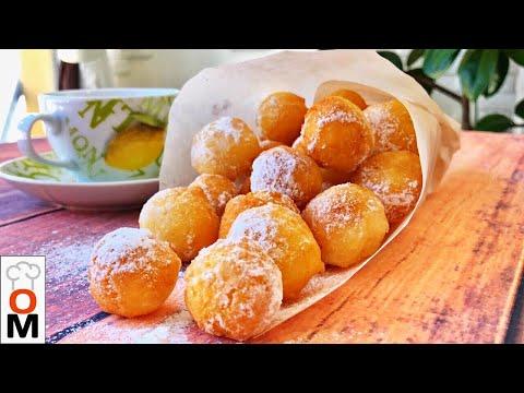 Творожные Пончики На Скорую Руку |  Кушаются как Семечки:)