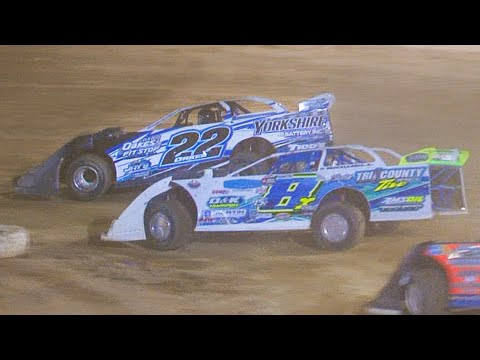 Super Late Model Feature | Bradford Speedway | 8-15-21 - dirt track racing video image