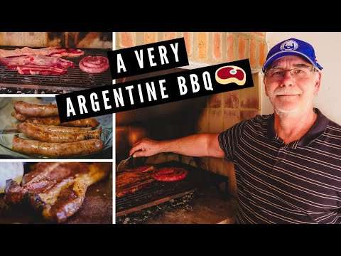 Argentina Asado Grill: Our DELICIOUS ARGENTINE BBQ in Cordoba with Daniel