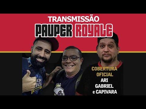 Pauper Royale - Narração ao vivo - 10-08-2020