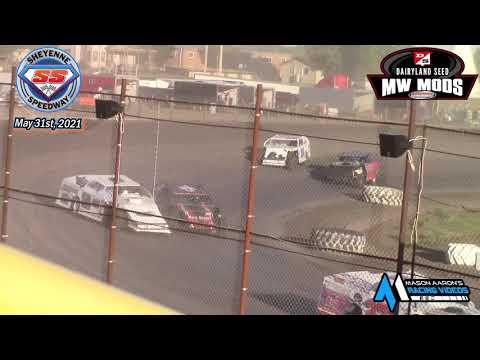 Sheyenne Speedway WISSOTA Midwest Modified B-Main (5/31/21) - dirt track racing video image