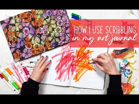 Scribbling in my Art Journal