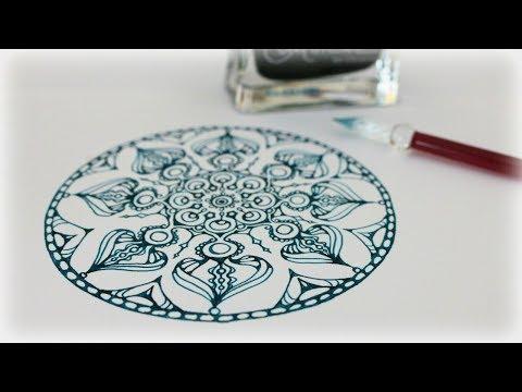 Zentangle Inspired Art #33