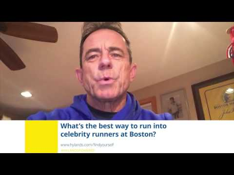 Ask Dave McGillivray: What's the best way to run into celebrity runners at Boston?