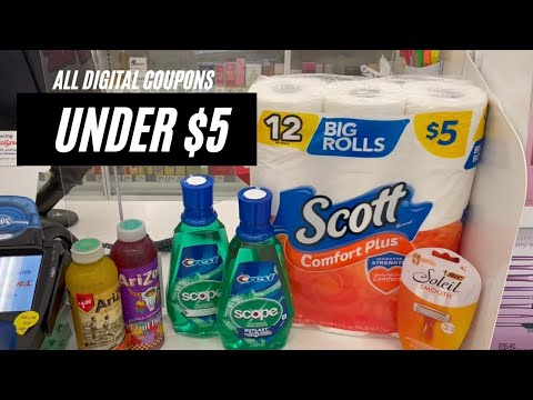 WALGREENS COUPONING ALL DIGITAL COUPONS   UNDER $5   ONE CUTE COUPONER  2/14-2/20