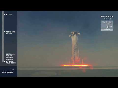 Watch Blue Origin's New Shepard Rocket Launch and Land - NS-12 Mission - UCVTomc35agH1SM6kCKzwW_g