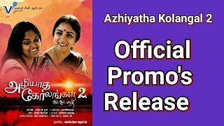 Video Trailer Azhiyatha Kolangal 2