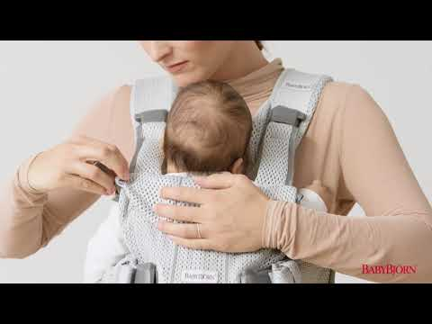 BABYBJÖRN - How to use the facing-in position for baby on Baby Carrier One