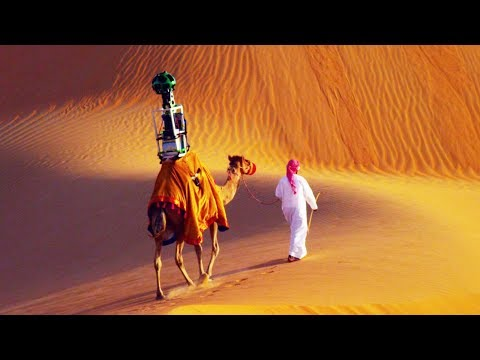 Верблюд обошел всю пустыню, чтобы сделать GOOGLE КАРТЫ: Какие еще методы использует Google?