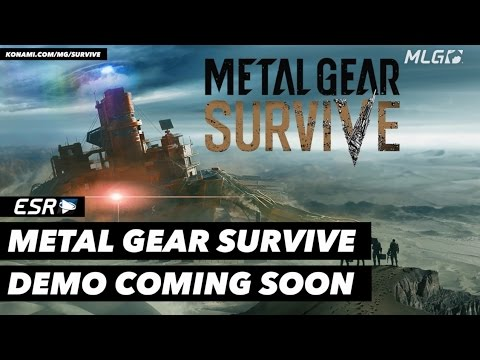 The Metal Gear Survive Gameplay Demo is Coming Soon!