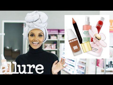 Halima Aden Shops for Her Favorite Beauty Products | From Head To Toe | Allure