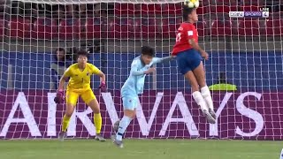 WWC 2019 Moments: Maria Urrutia's header manages to squirm past Boonsing to make it 2-0 to Chile