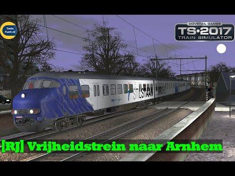[RJ] Vrijheidstrein naar Arnhem   NS Mat 64 Plan T   Train Simulator 2017
