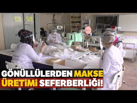 Kağıthaneli Öğrenciler Günde 10 Bin Maske Üretiyor
