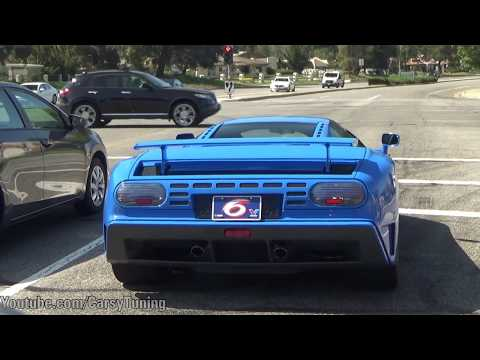 Bugatti EB110, Pagani Beverly Hills, Zonda F, Huayra L'Ultimo and more!