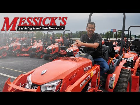 Neil buys a tractor | Kubota B3350 Picture