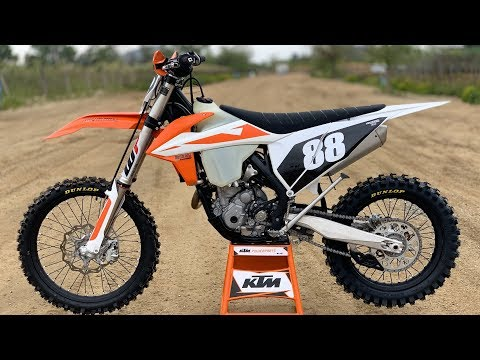 First Ride 2019 KTM 250XCF - Motocross Action Magazine