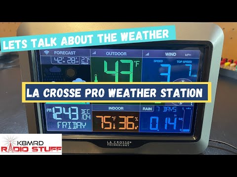 MFJ-199C Weather Station aka LaCrosse V40A Pro