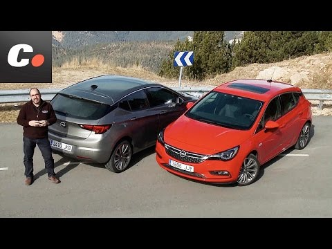Opel Astra 2015 / 2016 | Prueba Diesel vs Gasolina | Test / Review en español | coches.net