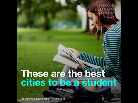 These are the best cities to be a student