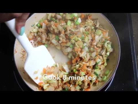 Mushroom Dumplings Recipe