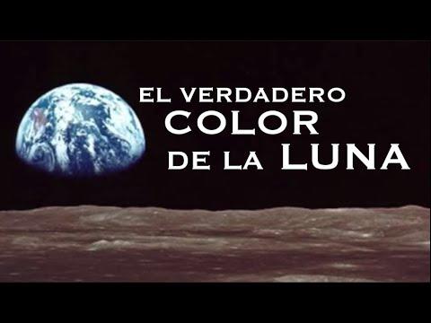 ¿DE QUÉ COLOR ES LA LUNA? | Mitos lunares