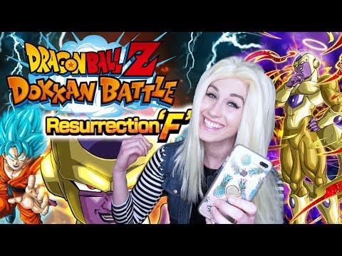 Dragon Ball Z DOKKAN BATTLE! Resurrection 'F' STORY & MULTI SUMMON!