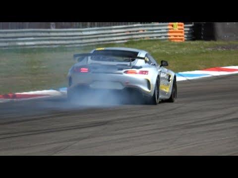 Brand new Mercedes-AMG GT4 broken on track!