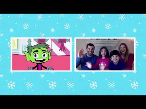 Cartoon Network - Holiday Hangout - How are you hanging out during the holidays? (Beast Boy)