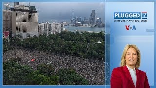 Hong Kong Protests Continue | Plugged In with Greta Van Susteren