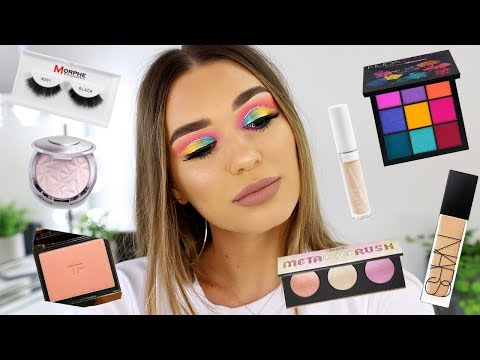Colourful Makeup Tutorial Using NEW Makeup Products!