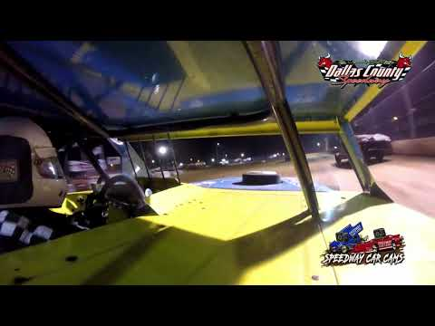 #14 Aaron Johns - B Mod - 6-18-2021 Dallas County Speedway - In Car Camera - dirt track racing video image