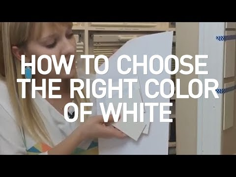 How To Choose The Right Color White?