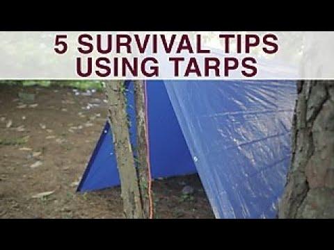 5 Alternative Uses For a Tarp - DIY Network