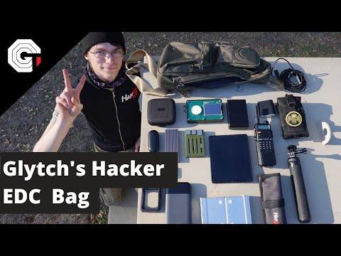 Glytch's Hacker EDC Bag - Version 2.0