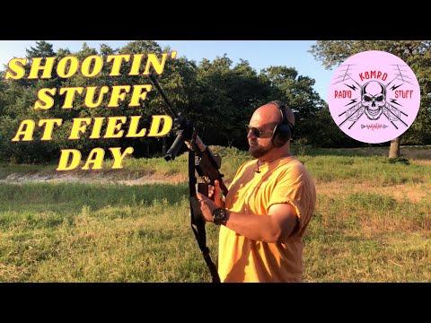 K8MRD SHOOTIN' STUFF   FIELD DAY FUN