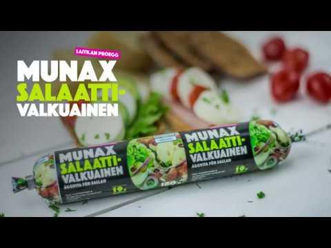 Laitilan Valmiiksi kypsennetty valkuainen on nyt Munax Salaattivalkuainen