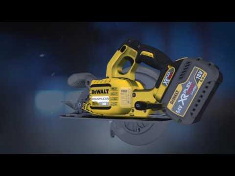 XR FLEXVOLT™,  trabaja sin cable sin renunciar a la máxima potencia.