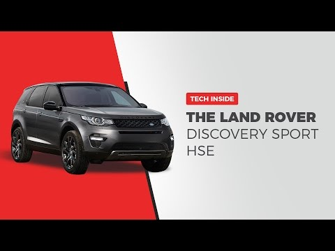 Land Rover Discovery Sport HSE 2.0L Petrol (2016) - The Tech Inside   Digit.in
