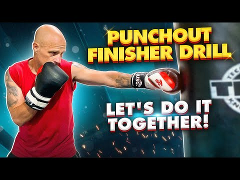 Build Stamina in Boxing with this Punchout Finisher Drill | Let's do it together!