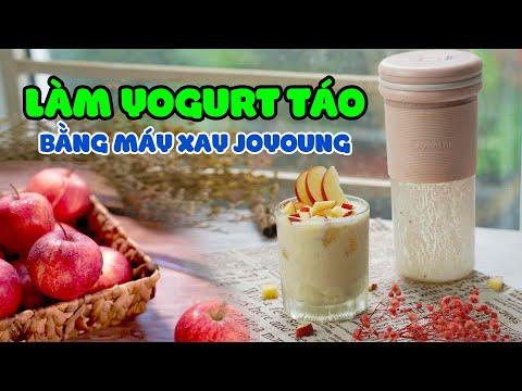 Cách Làm Yogurt Táo Đỏ Thơm Ngon Với Máy Xay Mini Joyoung | #Shorts