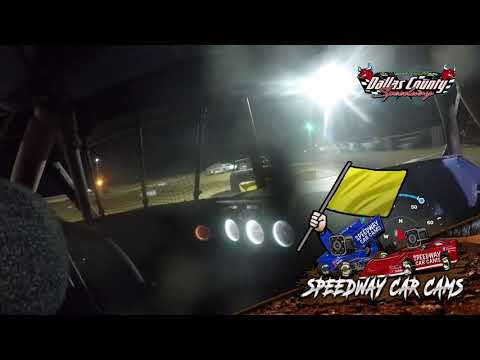#12 Christopher Sawyer - Usra Stock Car - 4-30-2021 Dallas County Speedway - In Car Camera - dirt track racing video image