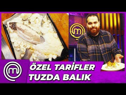 Kıvanç'tan Tuzda Balık Tarifi | MasterChef Türkiye