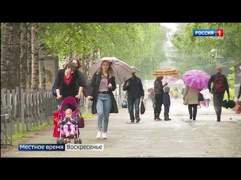 Прогноз погоды в Республике Коми на неделю 23.08.-29.08.2021
