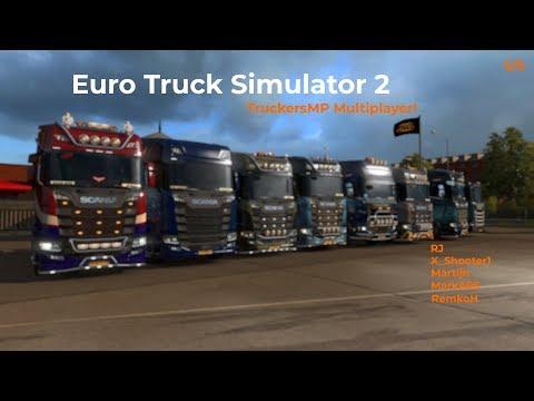 Euro Truck Simulator 2  TruckersMP  Part 55 Livestream 09122017