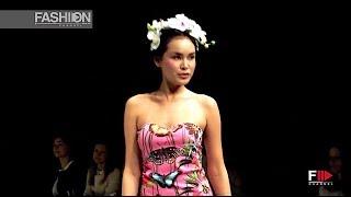 AGOGOA Blue Fashion Beach Spring Summer 2015 Moscow - Fashion Channel