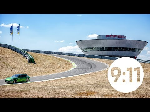 """The best combination of corners in the world"""" The Porsche Panamera on the on-road circuit in Leipzig"""