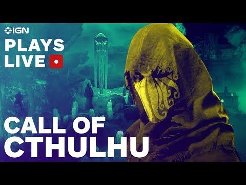 Call of Cthulhu: Spooky Pre-Halloween Livestream - IGN Plays Live - UCKy1dAqELo0zrOtPkf0eTMw