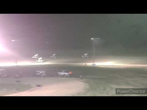 Great Lakes Super Sprints A-Main - I-96 Speedway - 7-30-2021 - dirt track racing video image