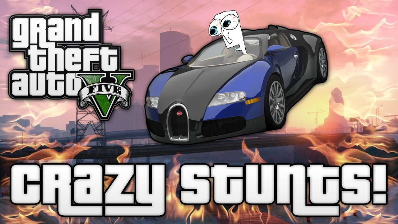 Gta V Crazy Jumps Stunts Gta 5 Funny Moments Fpvracerlt